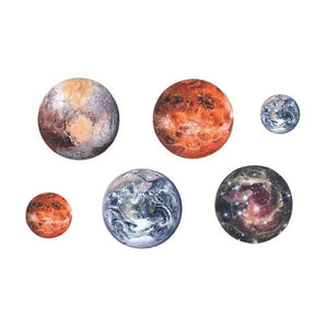 Planets Temporary Tattoos