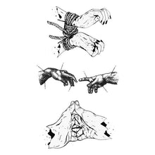 Hands Temporary Tattoos