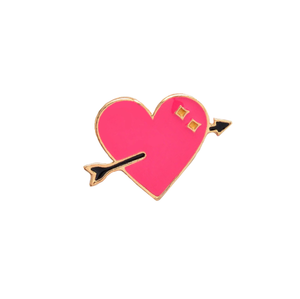 Love Heart Pin