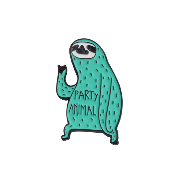Party Animal Pin