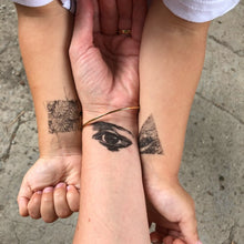 Old Eyes Temporary Tattoos