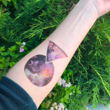 Fantasy Space Temporary Tattoo