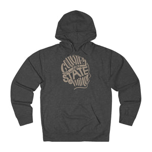 State of Mind Hoodie - Tan Ink