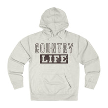 Country Life Hoodie - Brown Ink