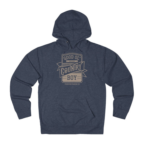 Good Ol' Country Boy Hoodie - Tan Ink