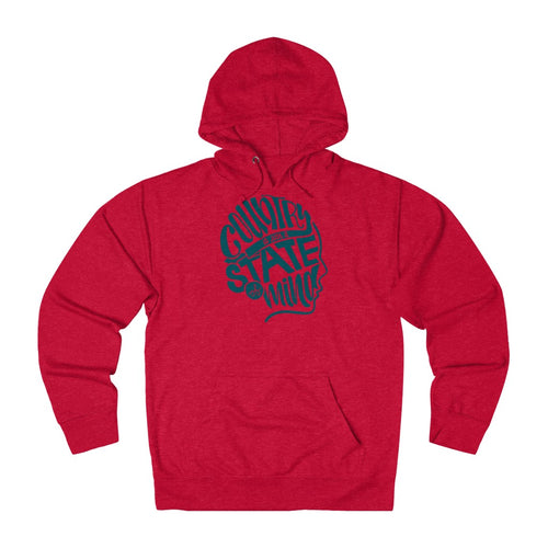 State of Mind Hoodie - Teal Ink