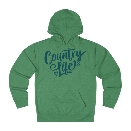 Country Life Hoodie - Teal Ink