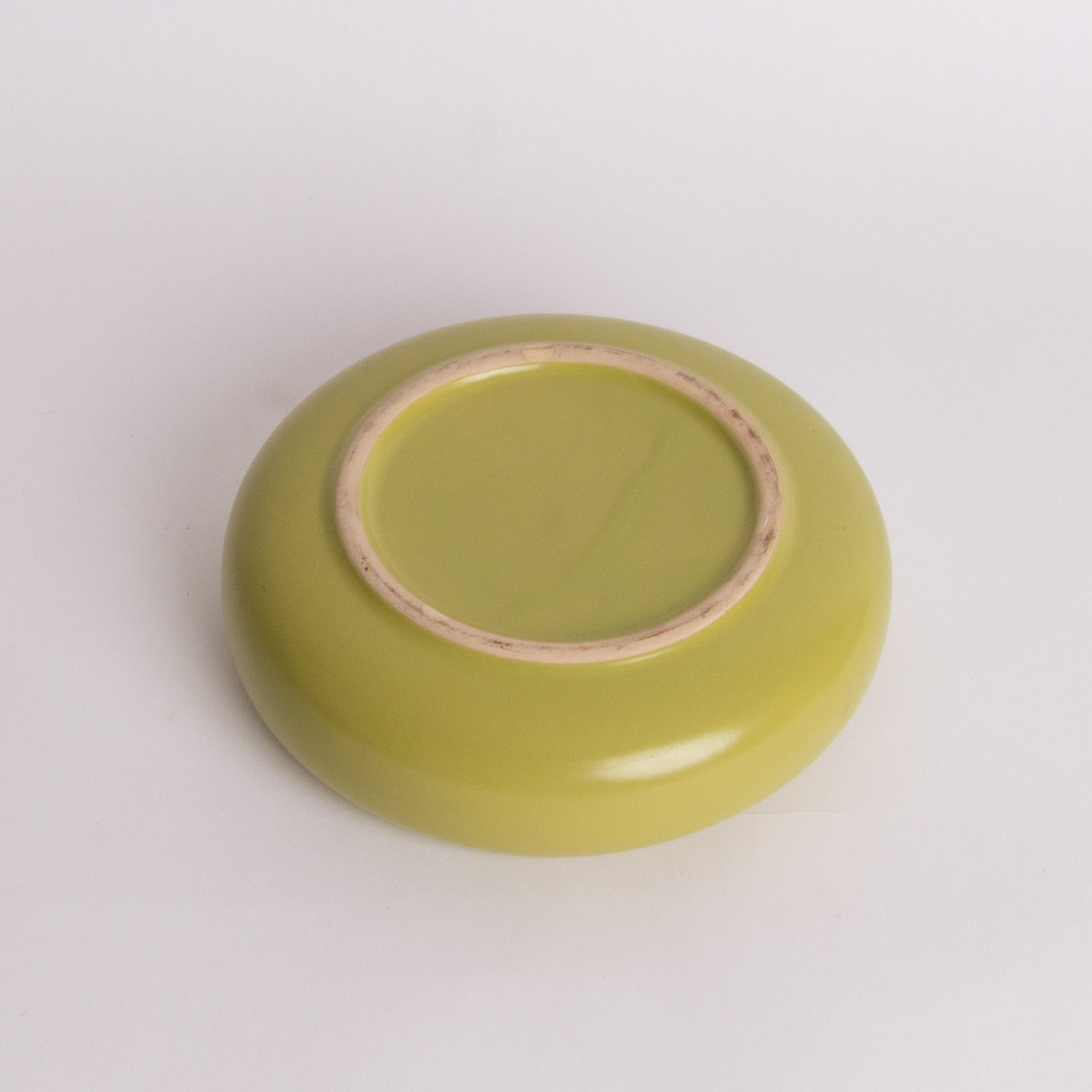 Avocado Green Round Planter
