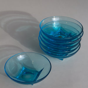 Light Blue Glass Bowls