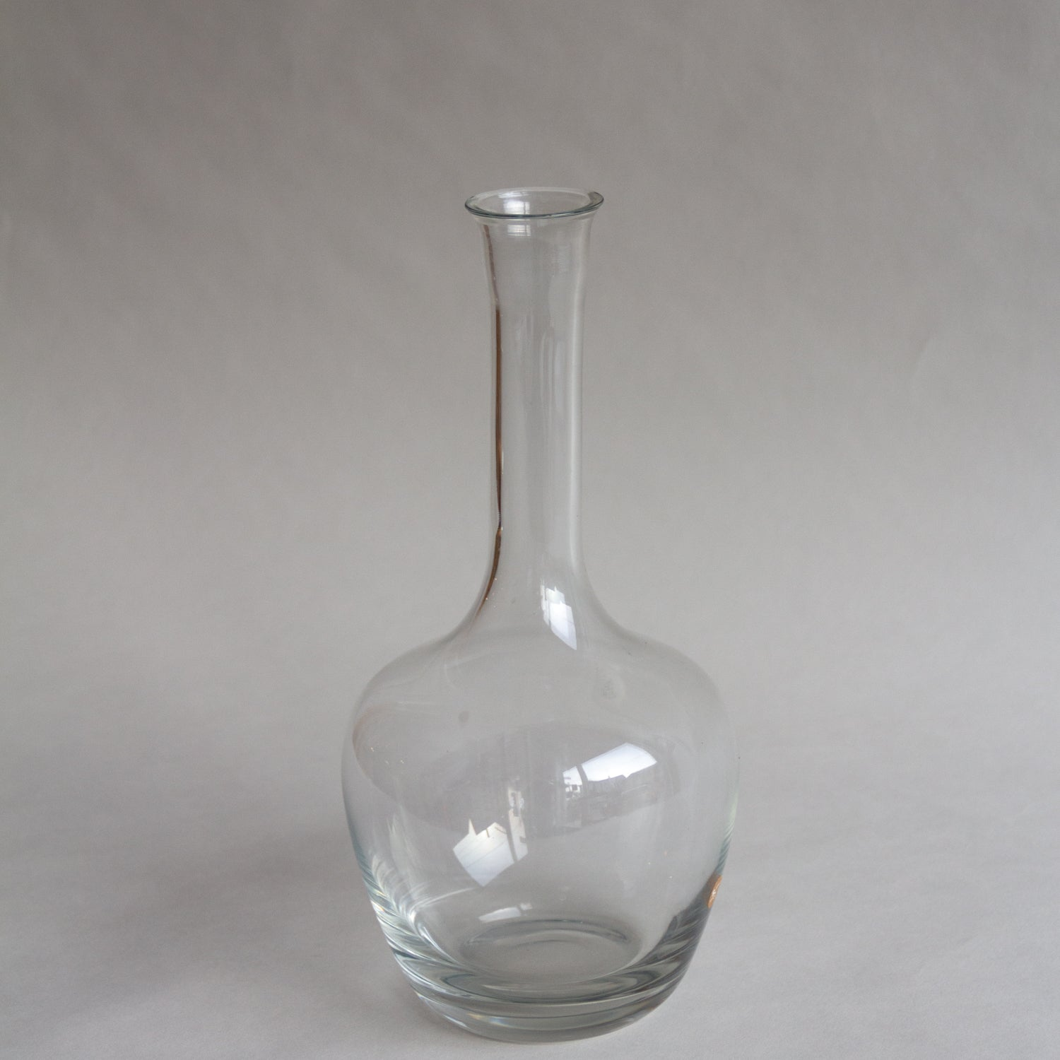 Glass Vase with Skinny Neck