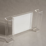 Lucite Cheese and Cracker Tray
