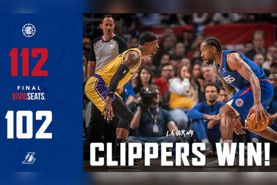 Los Angles City Milik Clippers di Pertandingan Opening NBA 2019/2020