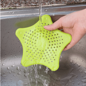 Star Sink Strainer For Kitchen And Bathroom | Protects Your Drain From Hair And Food - OFFLIVING.