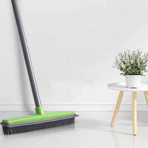 Magic Broom For Any Surface, Easy Pet Hair Removal | Adjustable Handle - OFFLIVING.