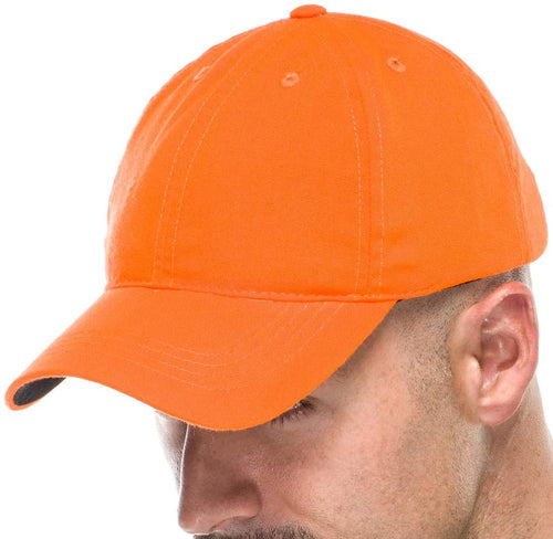 Adult Hunting Baseball Cap in Blaze Orange
