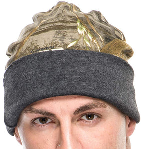 Men's Reversible Beanie in Realtree Max 5 Camo Print