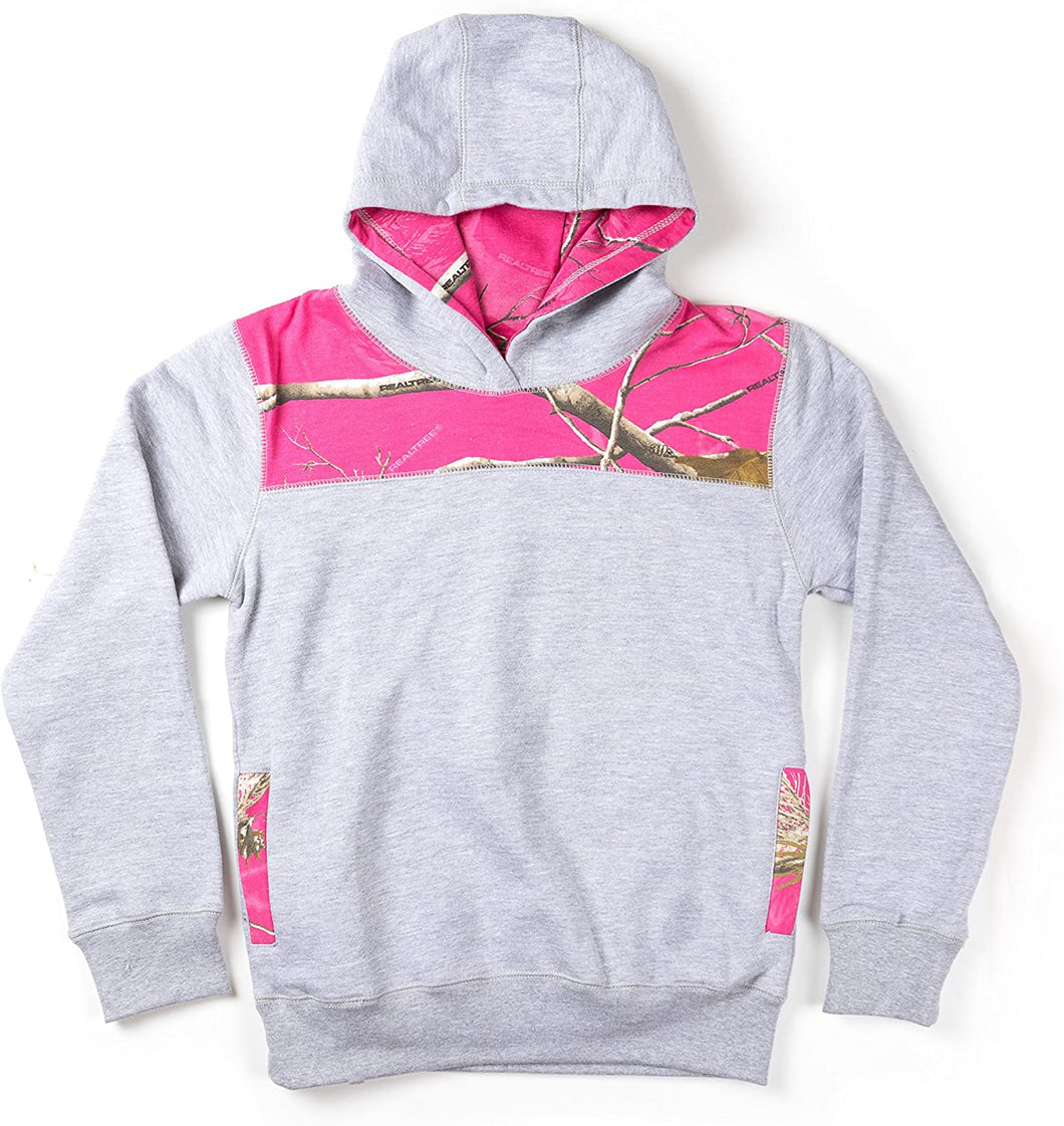 Realtree Youth Girls Colorblocked Hoodie
