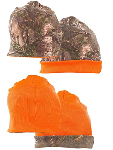Men's Reversible Beanie in Realtree Xtra Camo Print