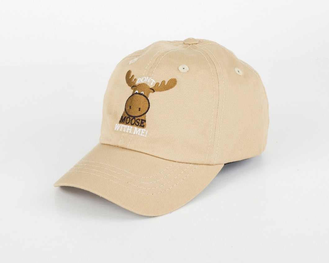 Toddler 'Don't Moose with Me' Hat