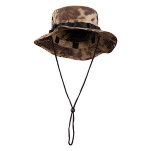 Men's Boonie Hat with Removable Sun Guard in Licensed Camo Print