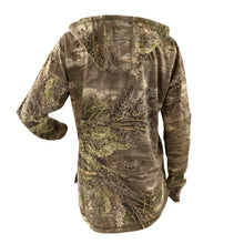 Muscogee Mills Realtree Ladies Long Sleeve Tee With Hood