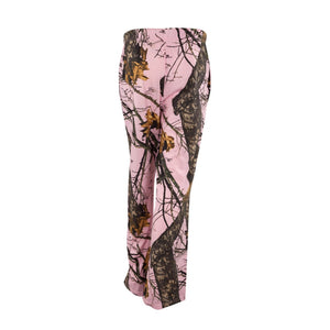 Mossy Oak Ladies Sleep Pants Pink Break-Up