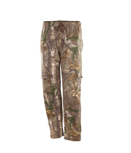 Men's Fleece Cargo Pants in Realtree Xtra Camo Print