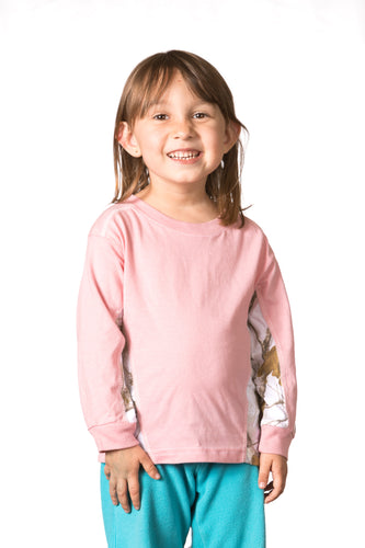 Realtree Toddler Long Sleeve Colorblocked Tee