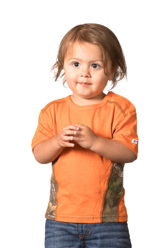 Realtree Infant/Toddler/Youth Colorblocked Short Sleeve Tee