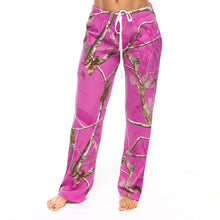 Ladies Lounge Pants in Realtree AP Radiant Orchid Camo Print