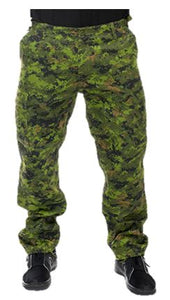 Men's Military BDU Six Pocket Pants in Digital Camo Print