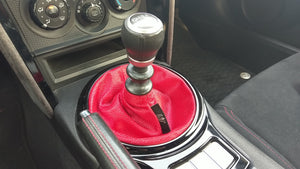 The Chrome shift boot - Red