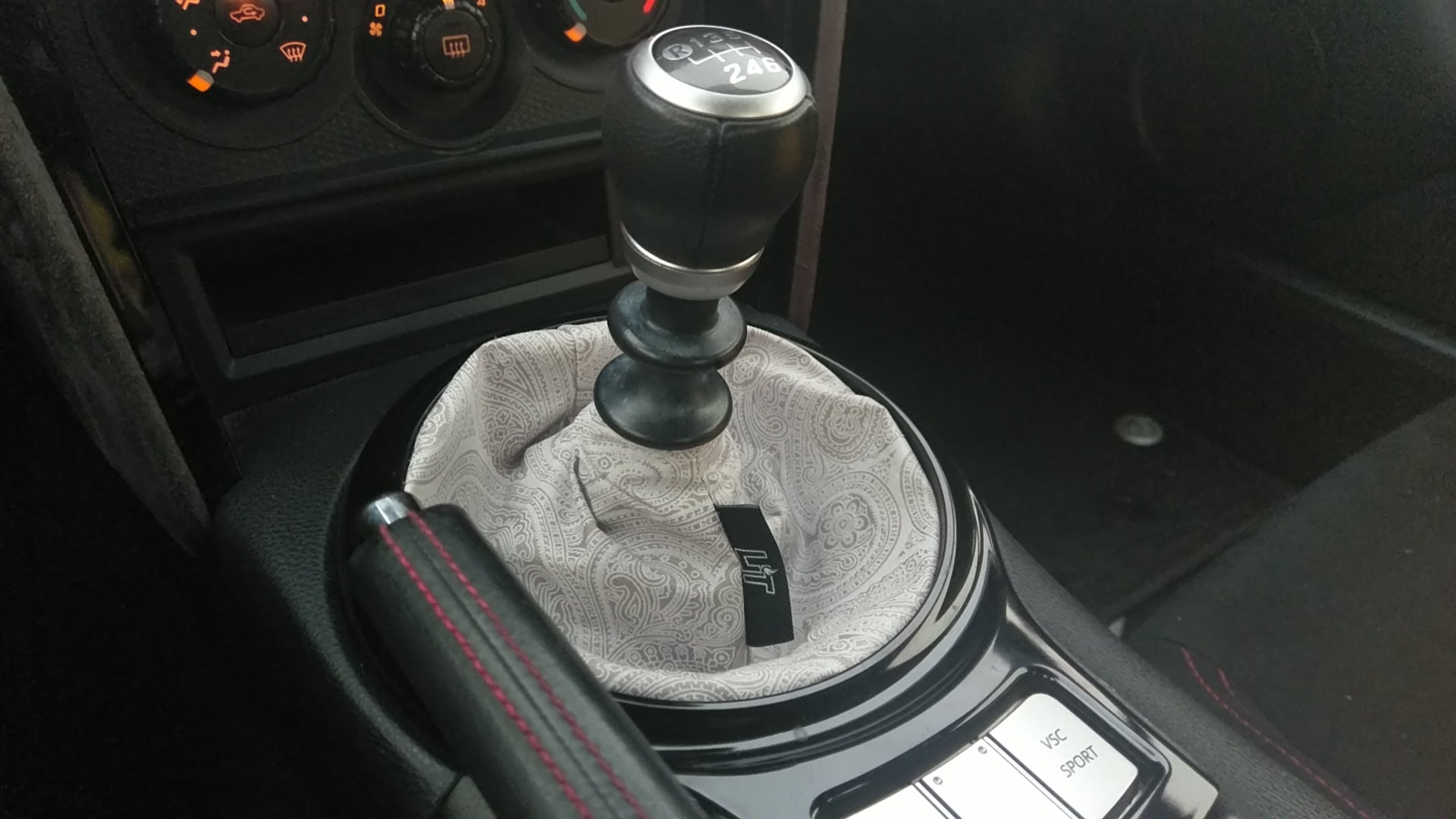 The Gray Art shift boot
