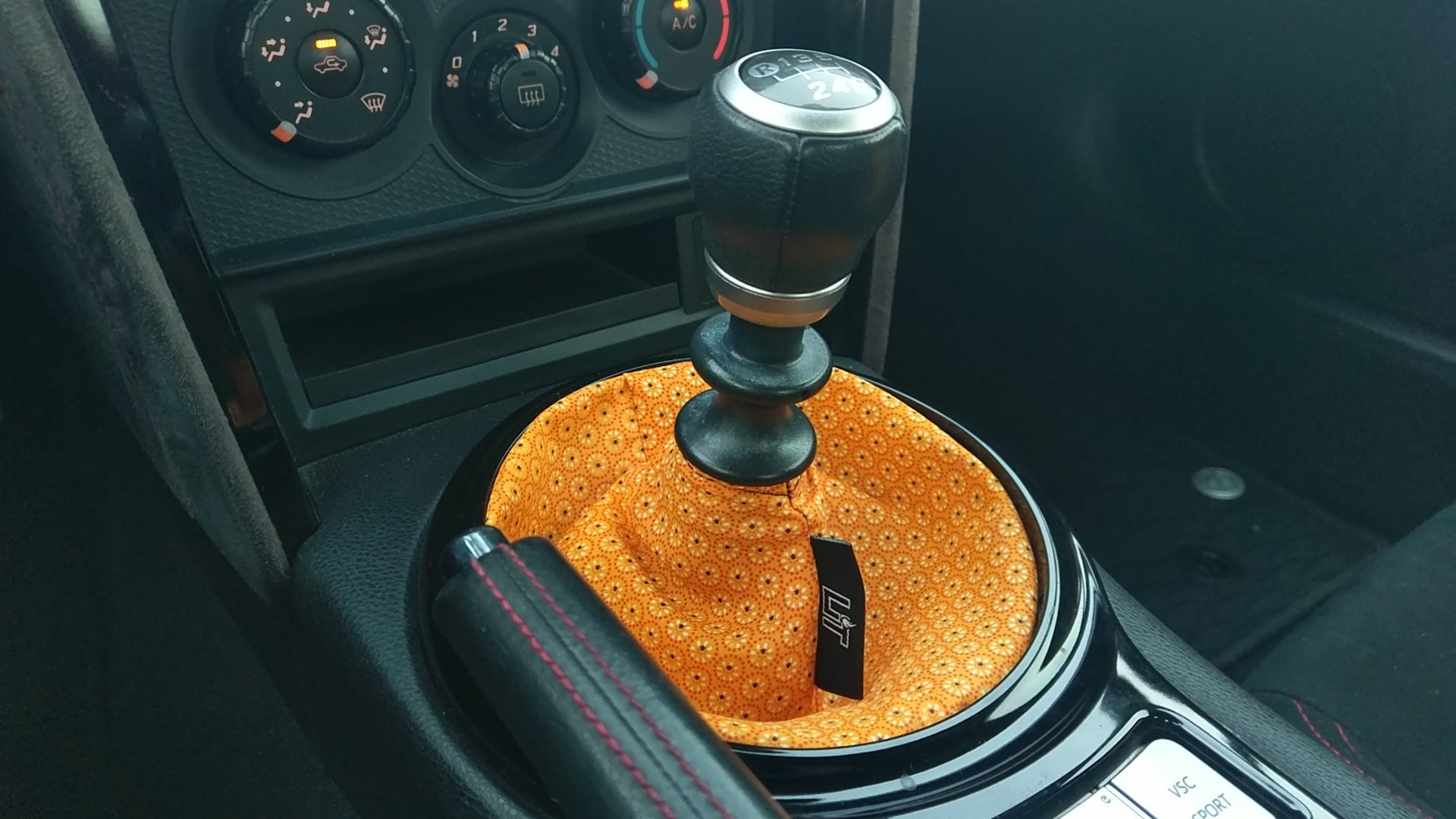 The Orange Shift Boot