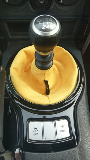 Yellow Suede Shift Boot