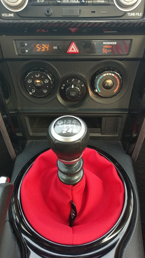 Red Plain Shift Boot