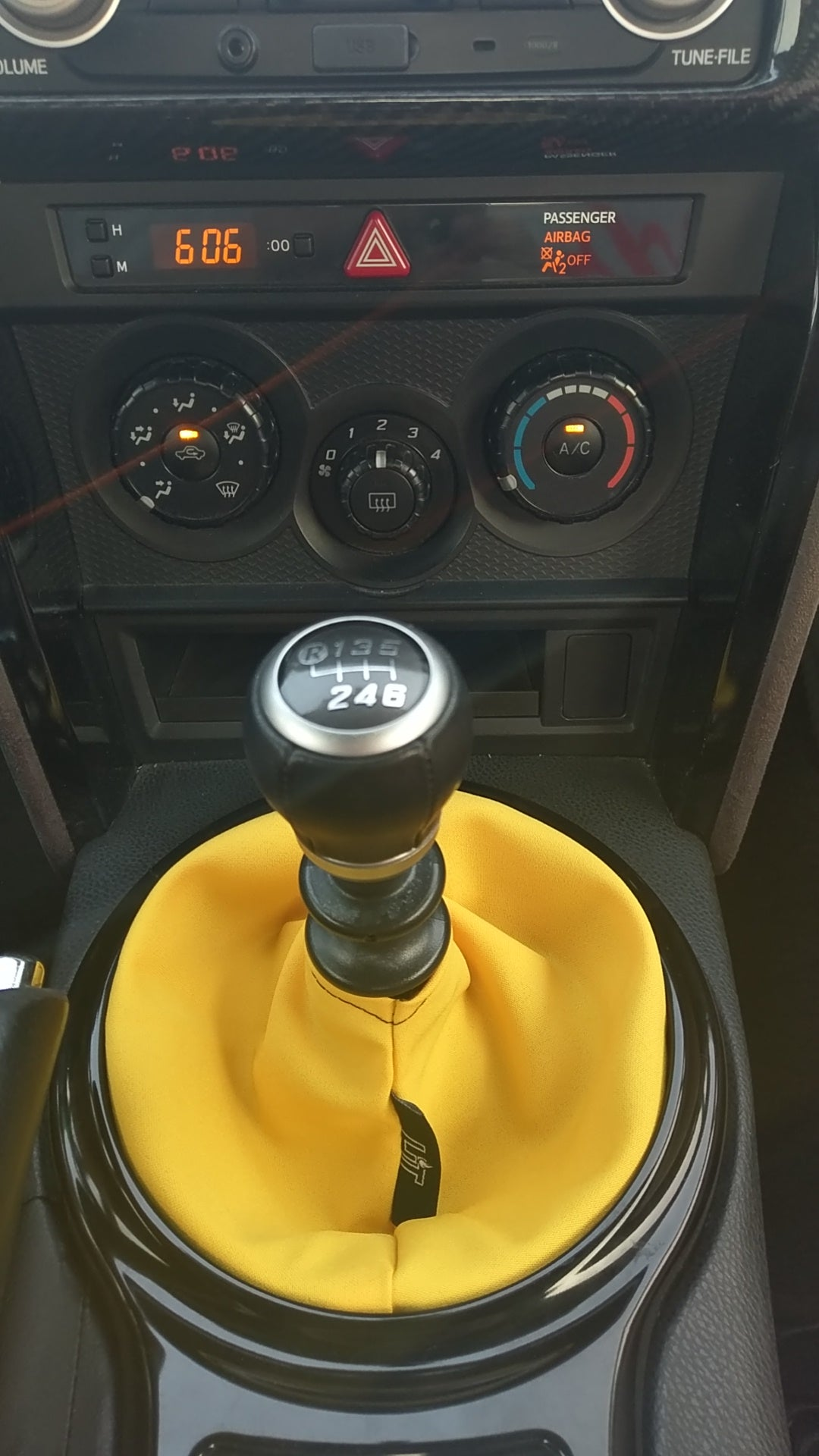 Yellow Plain Shift Boot