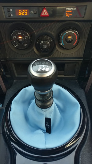 Sky Blue Plain Shift Boot