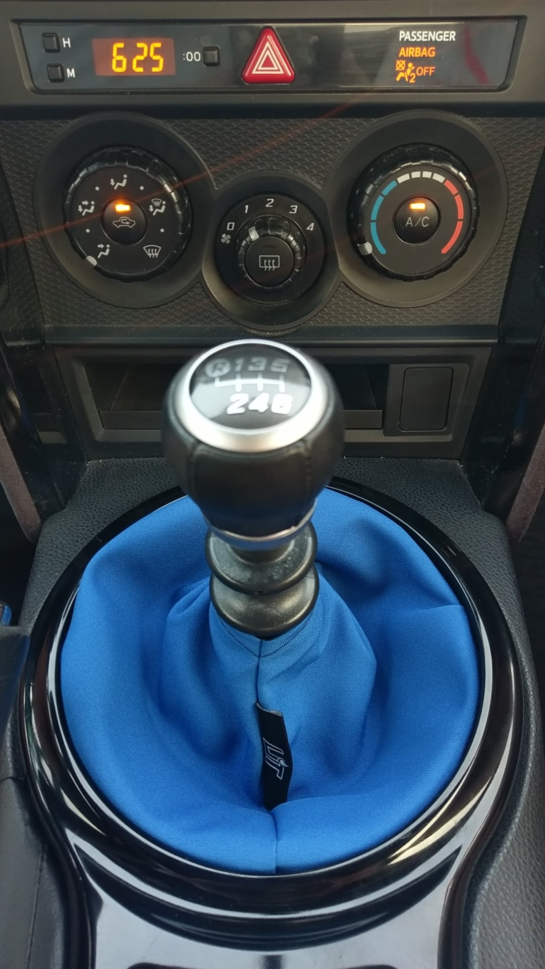 Royal Blue Plain Shift Boot