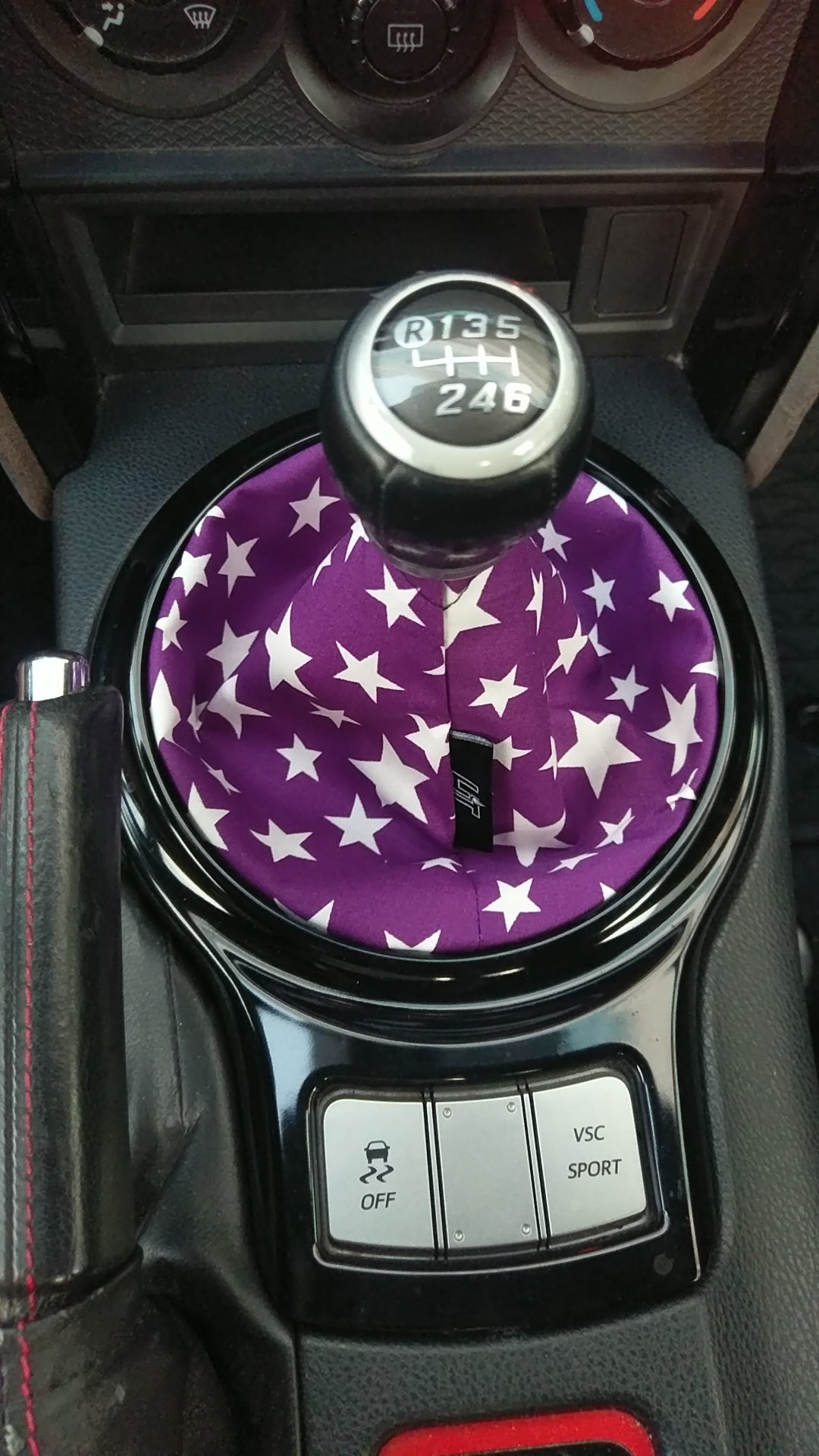 The Plum Stars Shift Boot