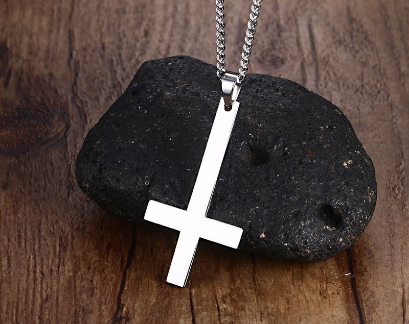 Punk cross of stter chain necklace pridecoast punk cross of stter chain necklace aloadofball Images