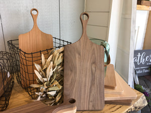 Paddle Cutting Board Walnut- Medium