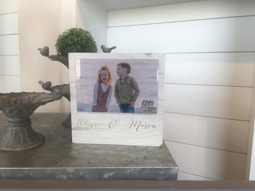 4x6 Shelf Sitter Photo Frame