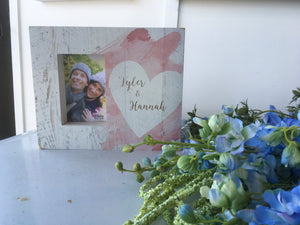 Heart Photo Frame 4x6