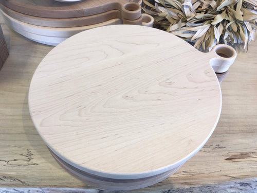 Round Maple Cutting Board-Medium