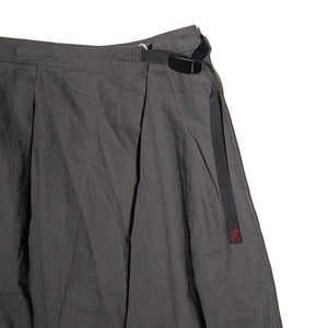 Gramicci - Linen Cotton Wrap Flare Pants - Charcoal