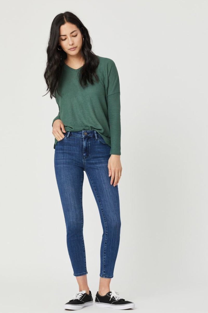 Mavi - Tess in Mid Tonal Supersoft Jeans Heidi-Ho2