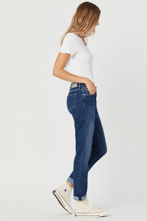 Mavi - Kathleen Mid Feather Blue Jeans