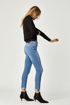 Mavi - Tess Highrise Skinny Mid Blues 90's Stretch Denim