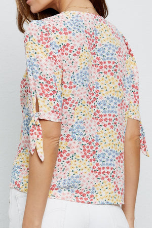 Rails - Ollie Flower Meadow Shirt